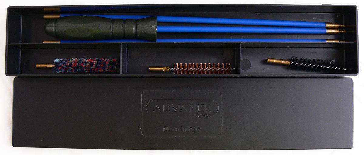 Набор для чистки коробка Nimar, калибр 9 мм. 210.1009 инструмент для измерения ствола нарезного оружия в украине