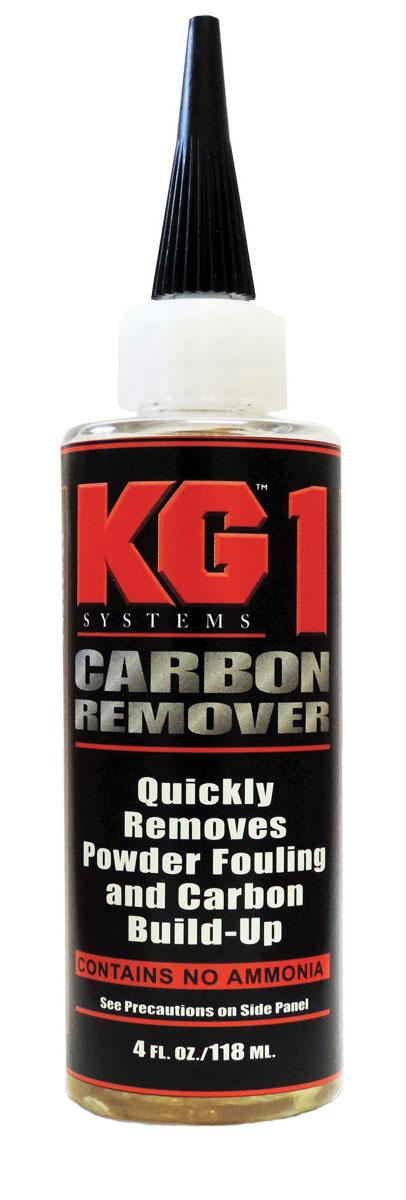 Состав для очищения деталей ружья или карабина от углеродных отложений. Отлично подходит для ствола, затворной группы, газовой камеры, УСМ и т.д. KG-1 полностью на водной основе и не содержит аммиак, поэтому не имеет неприятного запаха. В отличие от других сольвентов, состав KG-1 Carbon Remover очень бережно относится к металлу и после применения его не надо «нейтрализовать» специальными маслами, т.к. его среда абсолютно нейтральна.Компания Kal-Gard (на сегодняшний день - KG Industries, LLC США) с самого начала была нацелена только на производство высококачественных защитных составов!  В число постоянных клиентов сразу вошли крупнейшие заказчики из аэрокосмических, военных, спортивных отраслей (авто/мотоспорт), производители оборудования для бурения нефтяных скважин, медицинского оборудования и т.д.  KG Industries, LLC - это полностью американская компания, обслуживающая мировой рынок с дистрибьюторами во всех крупнейших странах, включая Австралию, Канаду, Италию, Японию, Новую Зеландию и Великобританию. Оружейная химия от KG Industries, в целом, просто не имеет себе аналогов. Так, например, популярнейшие составы KG-1 и KG-12 для снятия гари и меди после применения не надо нейтрализовать, т.к. они полностью на водной основе и не содержат аммиак. Именно благодаря таким ультрасовременным разработкам компания заработала себе репутацию высококлассного производителя защитных составов и средств по чистке оружия!