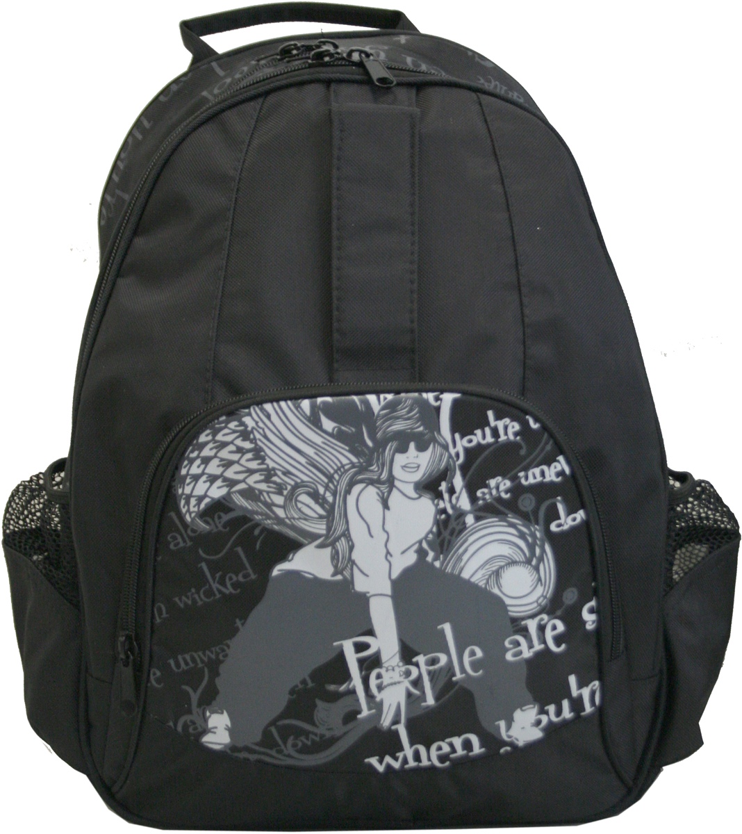 Рюкзак Antan Хип-хоп, цвет: черный. 6-13 antan 2 17l