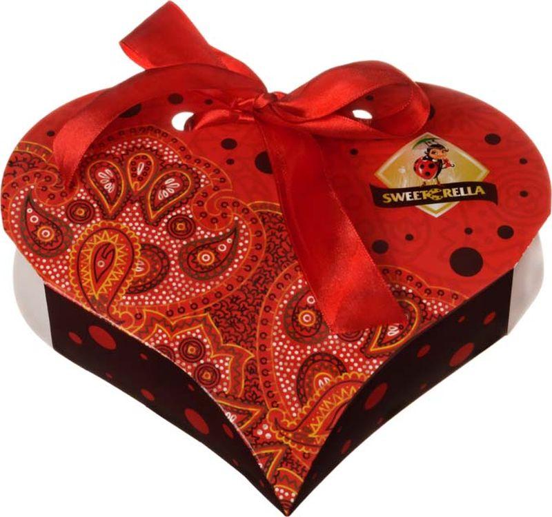 Sweeterella Сердце востока шоколадные конфеты, 130 г шоколадные годы конфеты ассорти 190 г