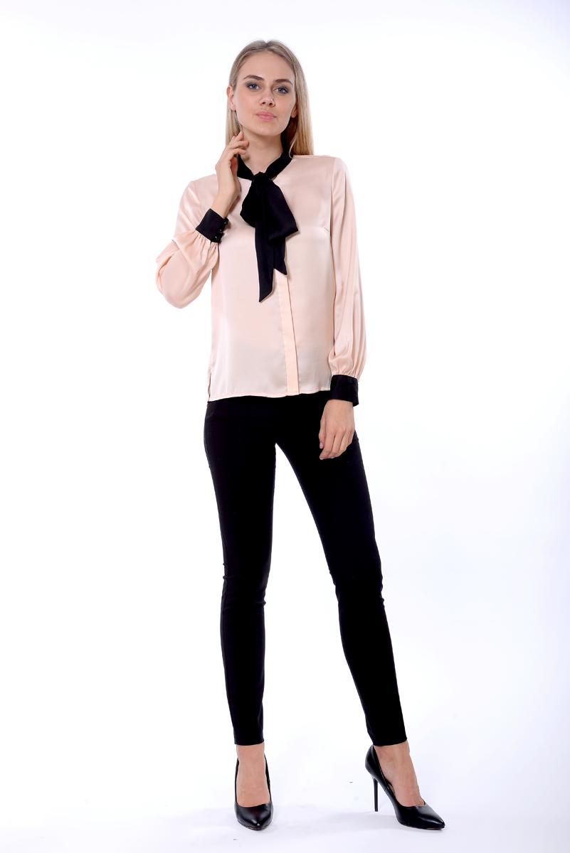 Блузка женская Lusio, цвет: бежевый. AW18-160029. Размер L (46/48)AW18-160029