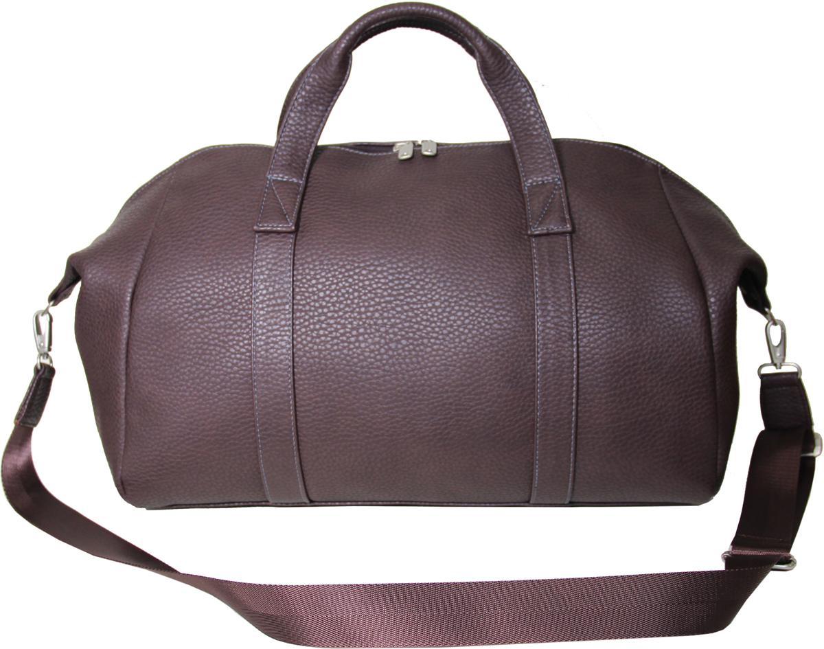 Сумка дорожная мужская Antan, цвет: коричневый. 2-267 В сумка antan венеция цвет черный 3 37