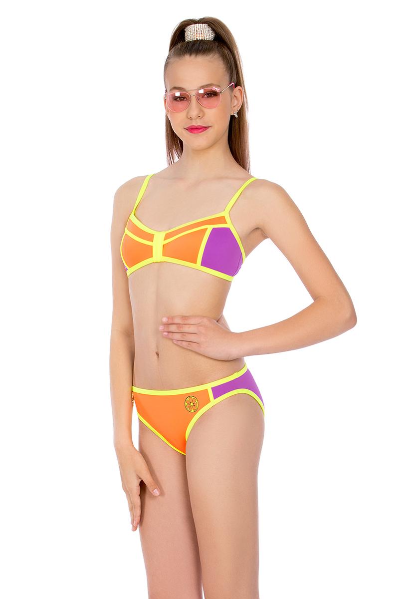 Купальник слитный для девочки Arina Festivita, цвет:  оранжевый.  YD/YCL 041804 AF.  Размер 34 (40) Arina Festivita