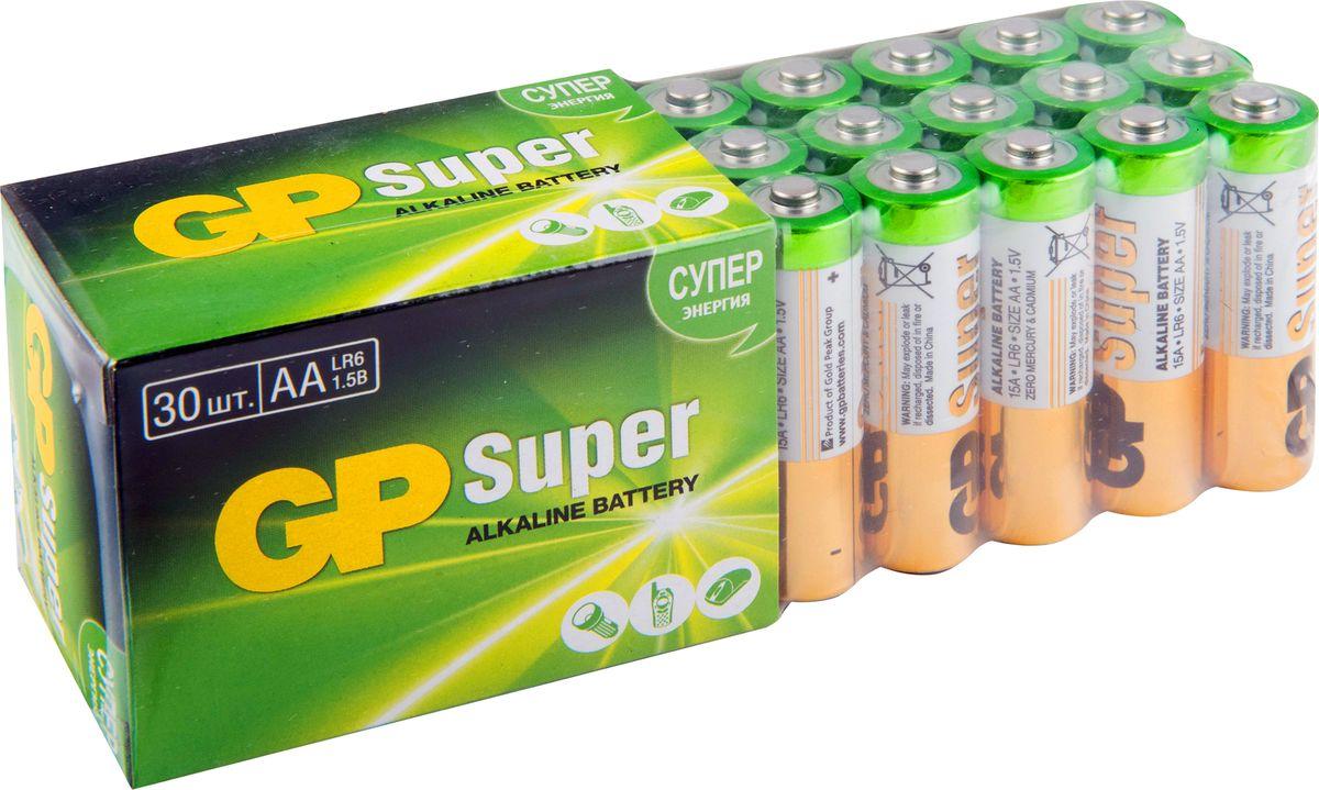 Набор алкалиновых батареек GP Batteries, тип АА, 30 шт стоимость