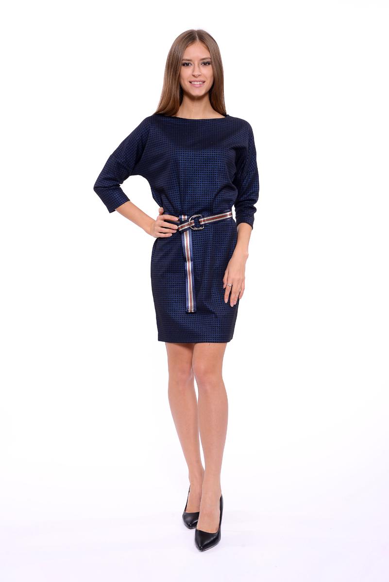 Платье Lusio, цвет: темно-синий. AW18-020028. Размер S (42/44)AW18-020028