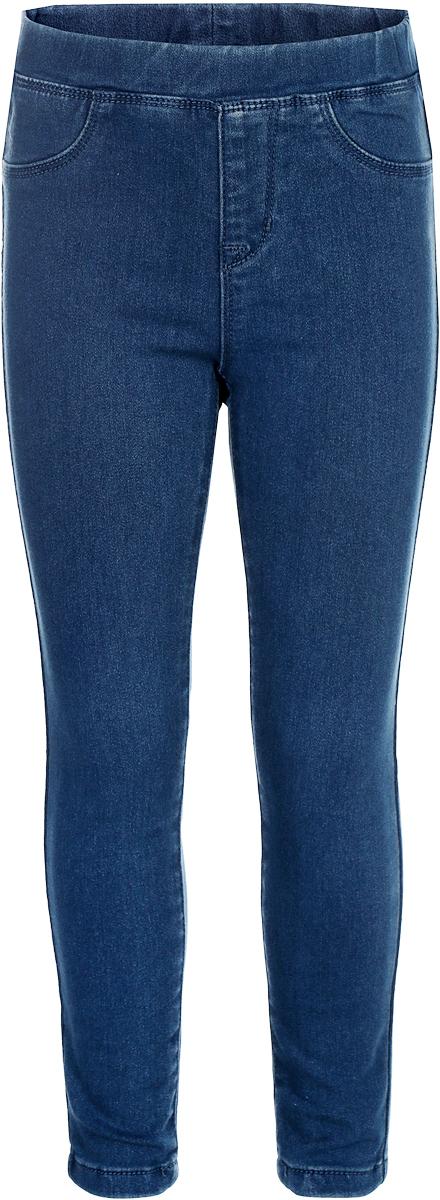 Брюки для девочки Sela, цвет: синий. PJ-535/003-8151. Размер 116