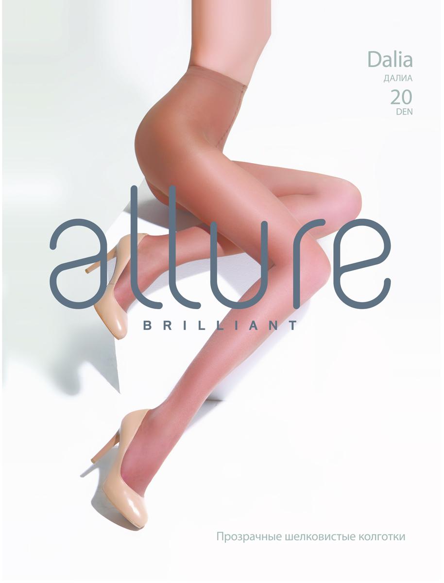 Колготки Allure Dalia 20, цвет: Glase (бронза). Размер 4 колготки allure allure mp002xw134cf