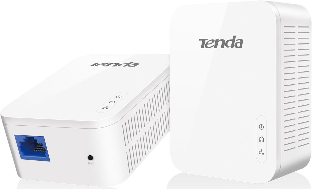 Tenda PH3 комплект гигабитных адаптеров PowerlinePH3Tenda PH3 - готовый набор из 2 сетевых адаптеров, которые смогут через электропроводку объединить двакомпьютера в сеть или же подключить их к Ethernet-свитчу.С передовой технологией HomePlug AV2, адаптер PH3 предоставляет Вам стабильные, высокоскоростныескорости передачи данных до 1000 Мбит по обычной электропроводке, а также интегрированные порты GigabitEthernet для проводных устройств.Технология передачи данных через линии электропередачи (PLC) позволяет существующим проводам статьпутёмдля потока данных, вы можете получить доступ в Интернет через существующую розетку. Технологияпозволяетлегко раскрыть или расширить сеть в доме или офисе.Строгая работа, отличный выбор материалов - основание для стабильное, надежное и длительной работыадаптера PH3, эффективное расстояние передачи до 300 метров. •Микросхемы Broadcom Gigabit Powerline •Класс V0 пожаробезопасности корпуса •Инновационный процесс проектирования платыФабричная настройка пар устройств для экономии Вашего времени, автоматическое подключение устройствприподключении в розетку, без необходимости настройки.Схемотехника PH3 с низким энергопотреблением, потребляемая мощность при полной нагрузке менее 3,2 Вт,также встроенные новейшие интеллектуальные функции, определяющие, когда подключенное устройствоработает и когда находится в режиме ожидания, автоматически переключает номинальный режим и режимэнергосбережения (0,36 Вт), Вы можете сэкономить до 88% потребляемой мощности.PLC технология: HomePlug AV 2 Сетевые стандарты: IEEE 802.3,IEEE 802.3u,IEEE 802.3ab Технология модуляции: OFDM,CSMA/CA Питание: AC100~240B 50/60 Гц 0.1A Частота Powerline: 2-86 МГц