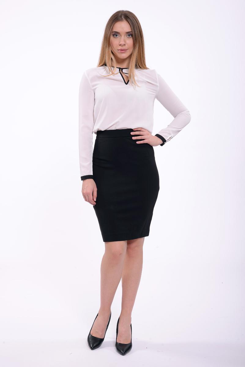 Юбка женская Lusio, цвет: черный. AW18-030076. Размер XS (40/42) цены онлайн