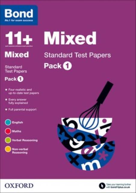 Bond 11+: Standard Test Papers: Pack 1 the mirror test