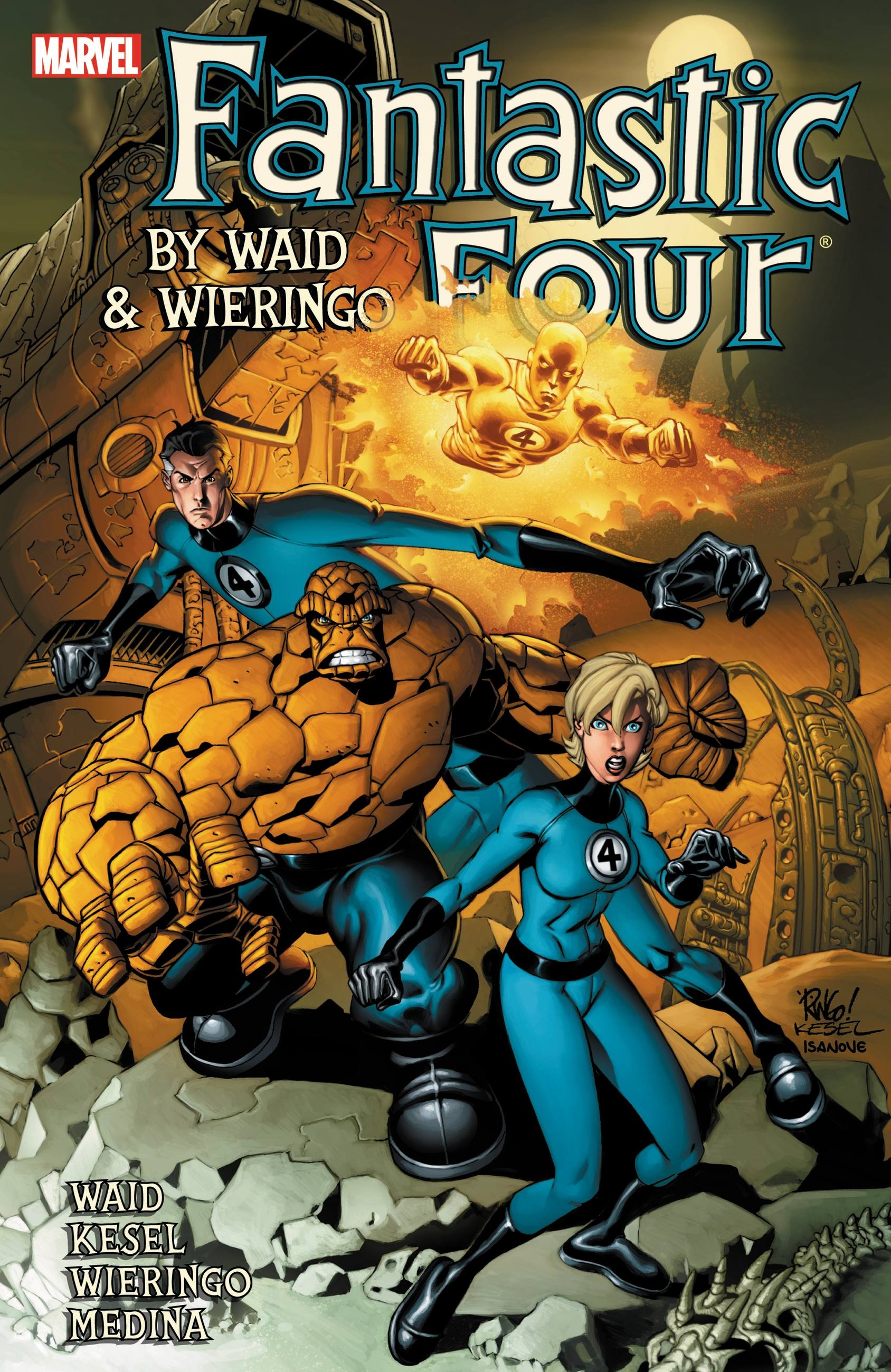Fantastic Four by Waid & Wieringo Ultimate Collection Book 4 ultimate spider man ultimate collection book 4