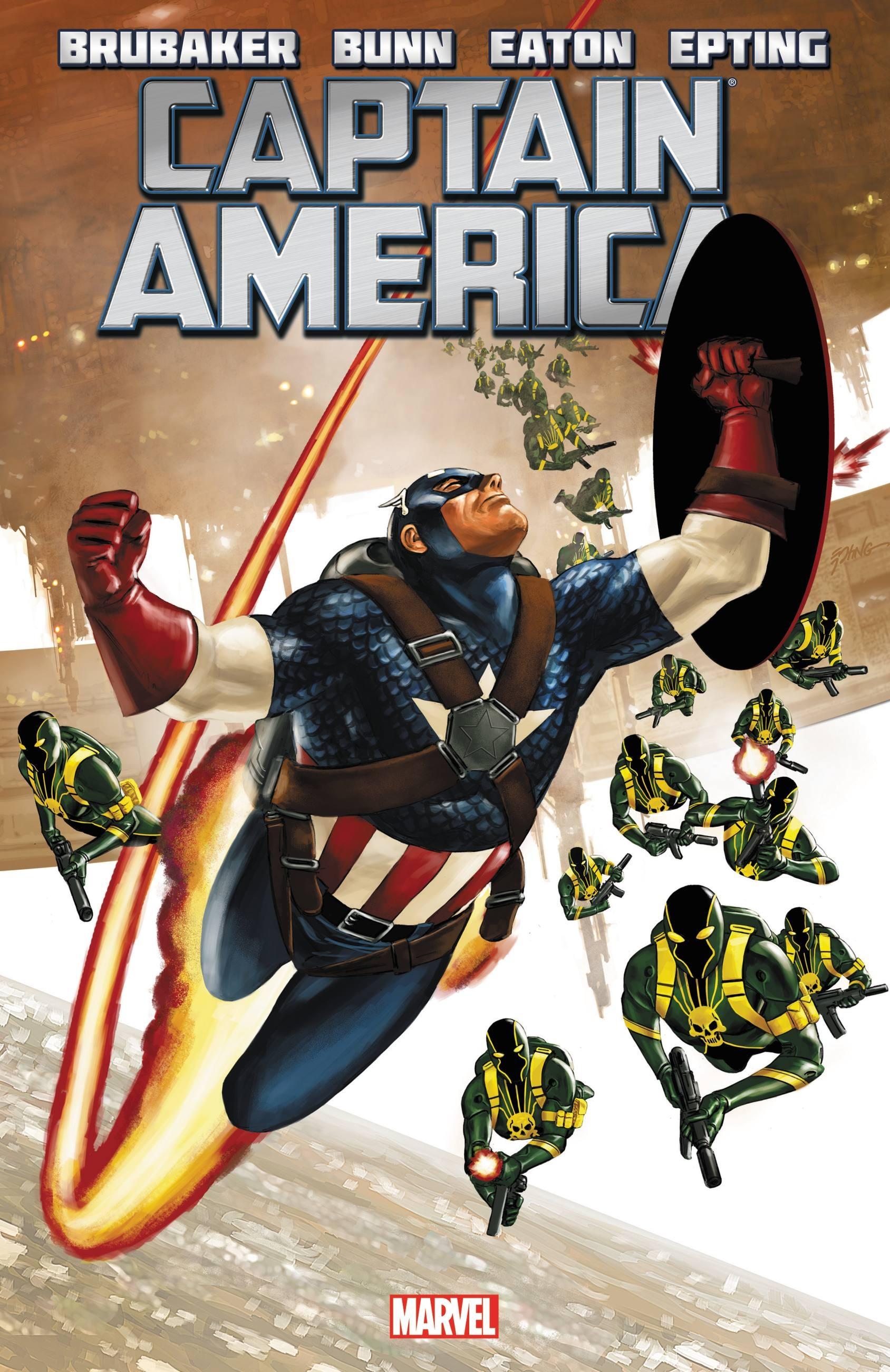 Captain America by Ed Brubaker - Volume 4 captain america by dan jurgens volume 3