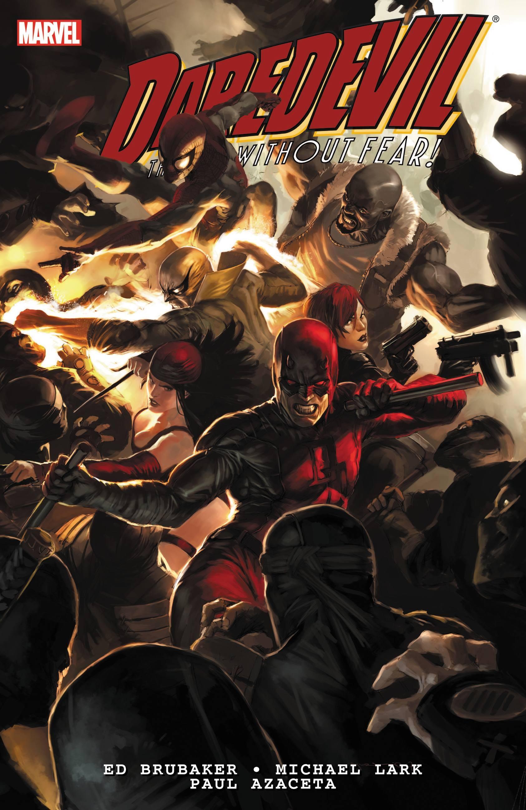 Daredevil by Ed Brubaker & Michael Lark Ultimate Collection - Book 2 ultimate sticker book dangerous dinosaurs