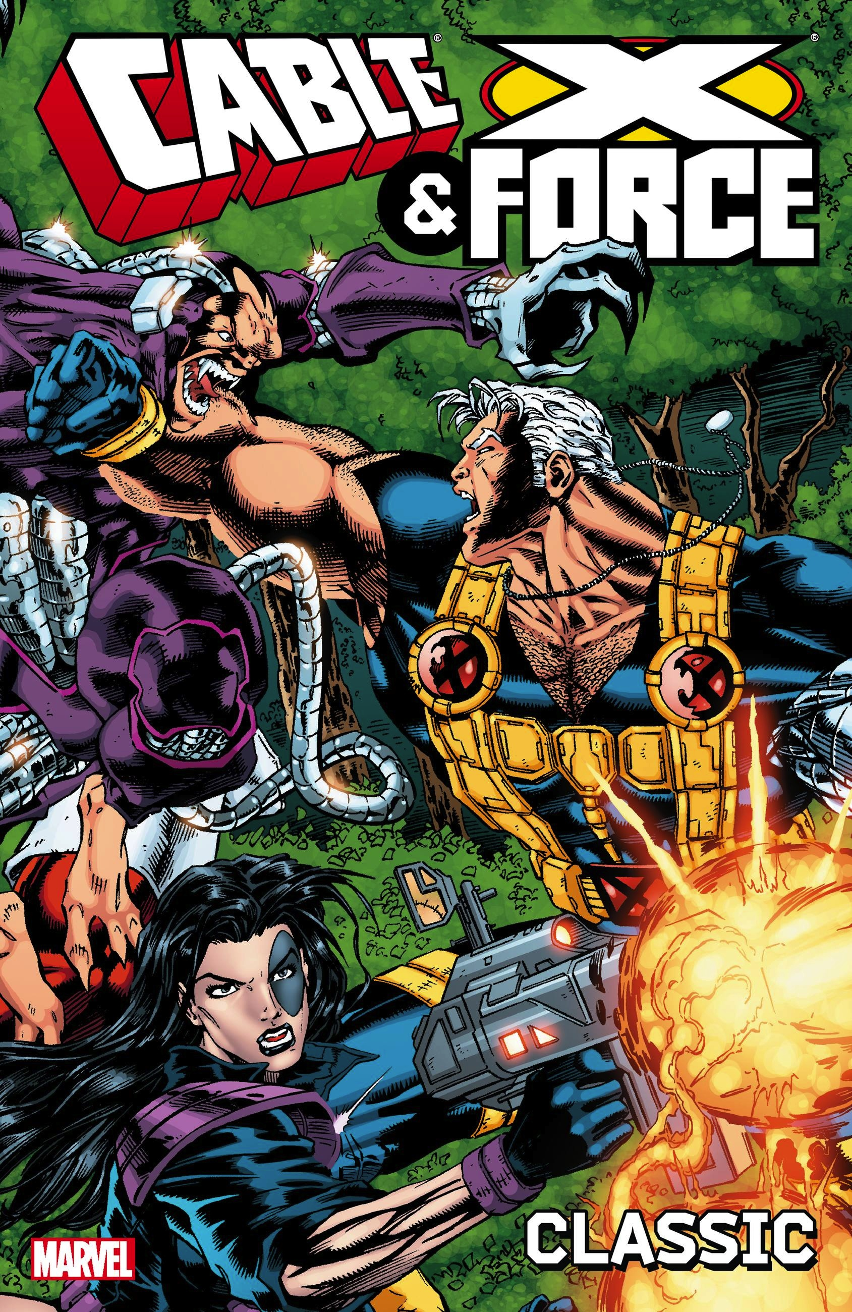 Cable and X-Force Classic - Volume 1 a force presents volume 2