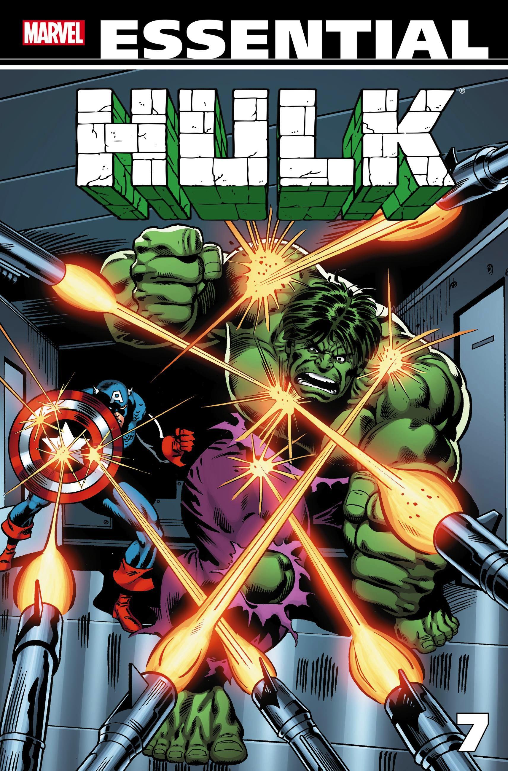 Essential Hulk Volume 7 lee stan essential hulk volume 2