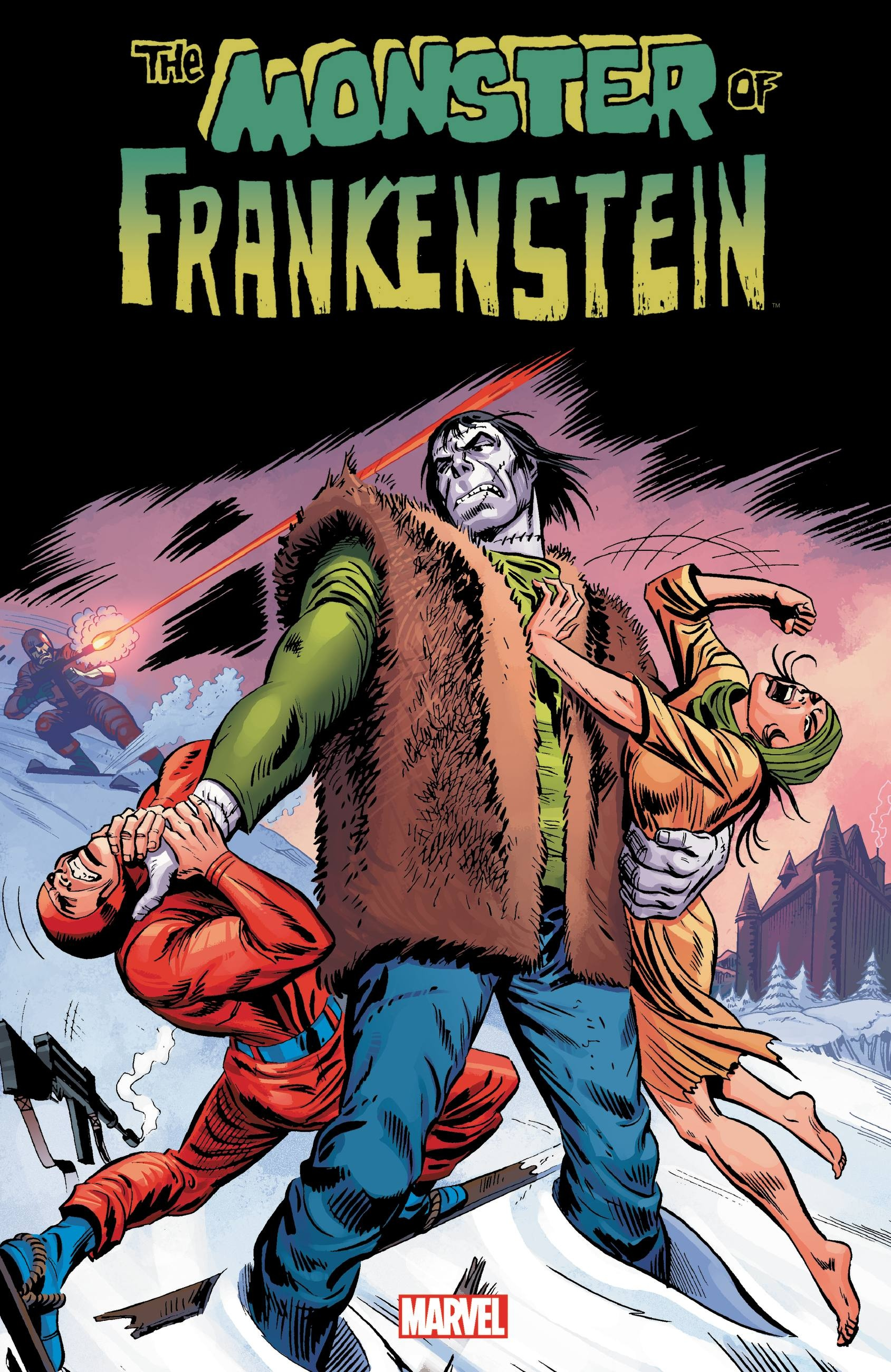 Monster of Frankenstein Vol. 1 inhuman vol 1