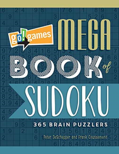 GO!GAMES MEGA SUDOKU go games the sudoku challenge