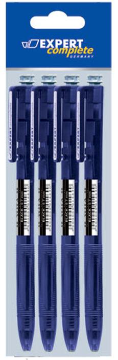 Expert Набор шариковых автоматических ручек Complete Yota 4 шт канцелярия berlingo набор автоматических шариковых ручек f 10 цвет синий 4 шт