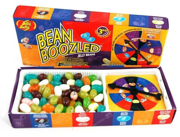 Jelly Belly Игра Bean Boozled с жевательным драже и рулеткой, 100 г 42470 cantaloupe jelly belly 1 pound bag