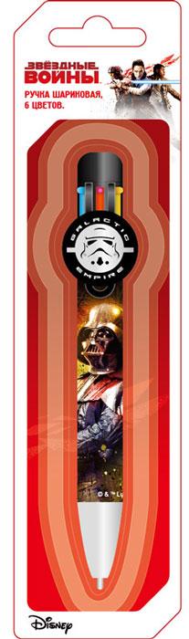 LucasFilm Ручка шариковая автоматическая Star Wars 6 цветов
