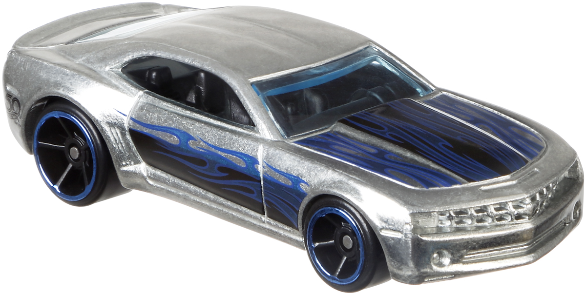 Hot Wheels Трековые машинки Юбилейные тематические машинки Chevy Camaro Concept