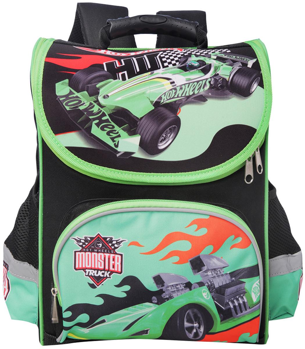 Mattel Ранец школьный Premium box Hot Wheels ранец kite kite ранец школьный 529 каркасный speed