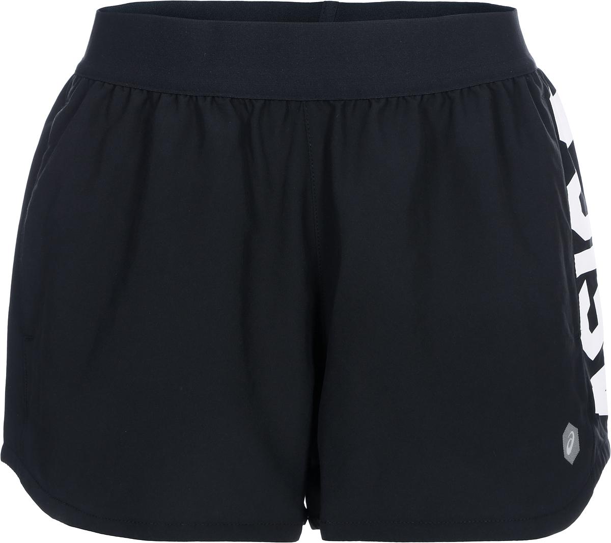 Шорты женские Asics Prfm Short, цвет: черный. 155250-0904. Размер XS (42) шорты женские asics short 3 5in цвет черный 134117 0904 размер xs 42