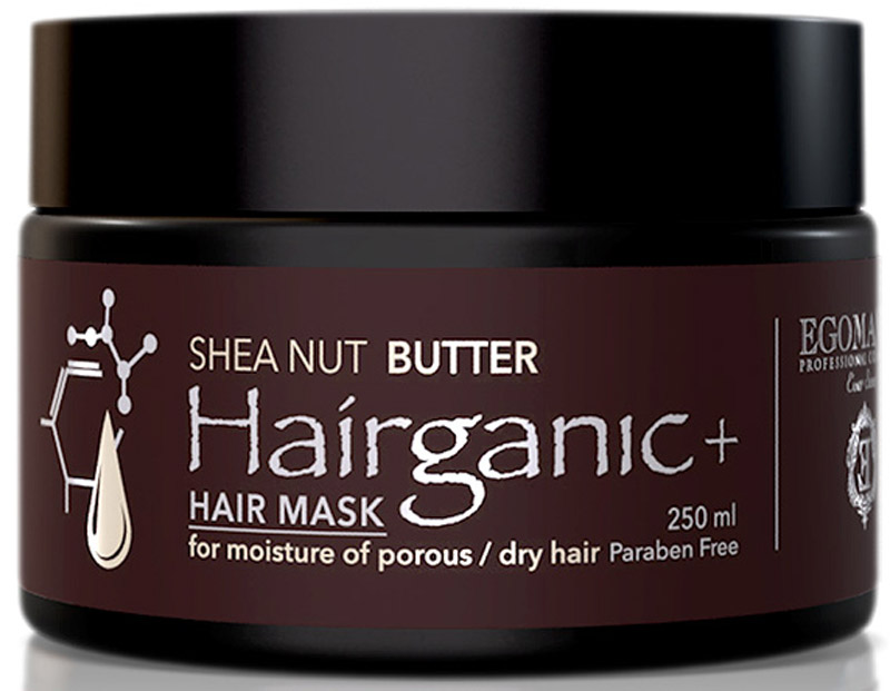 Egomania Professional Collection Маска Hairganic+ с маслом ши, для увлажнения пористых сухих волос, 250 мл42270_для сухих волос