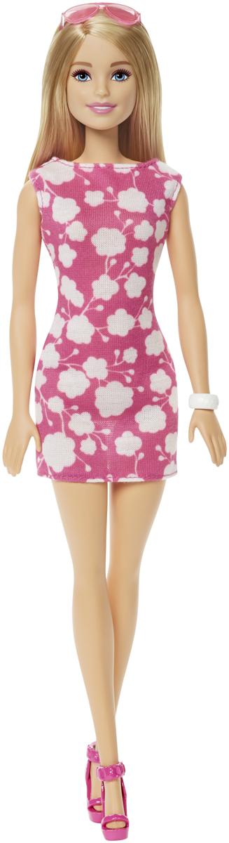 Barbie Кукла Куклы в модных платьях цвет платья розовый DMP22_DMP23 barbie кукла цвет платья розовый черный