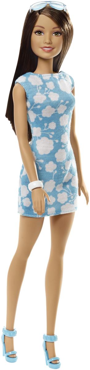 Barbie Кукла Куклы в модных платьях цвет платья голубой DMP22_DMP24