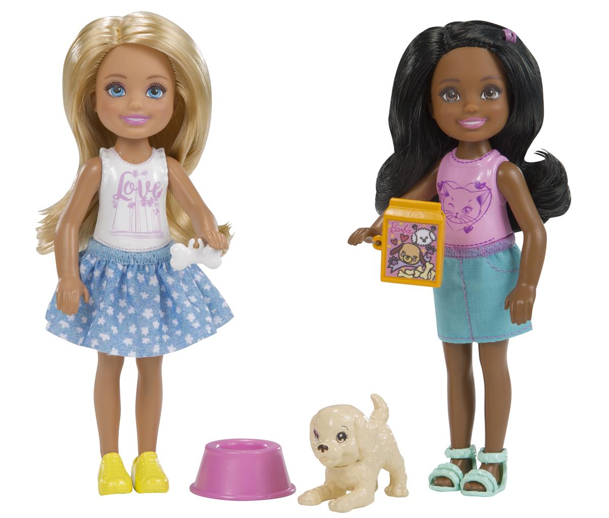 Barbie Кукла Челси 2 шт FHK96_FHK97