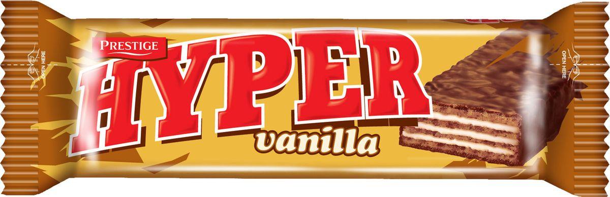 Hyper вафли ванильные в какао глазури, 55 г dr schar вафли ванильные 125г