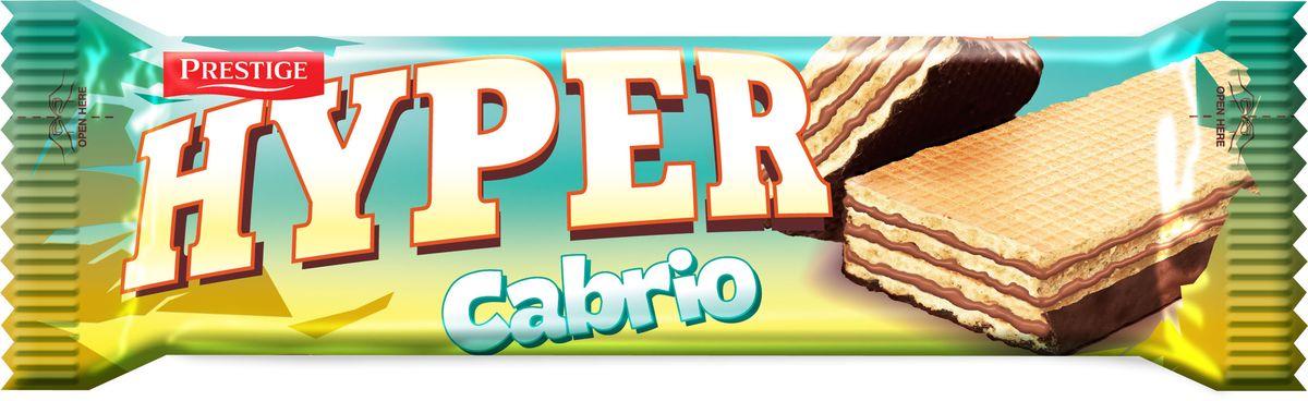 Hyper вафли Кабрио, 51 г коломпенское вафли шоколадный вкус 220 г