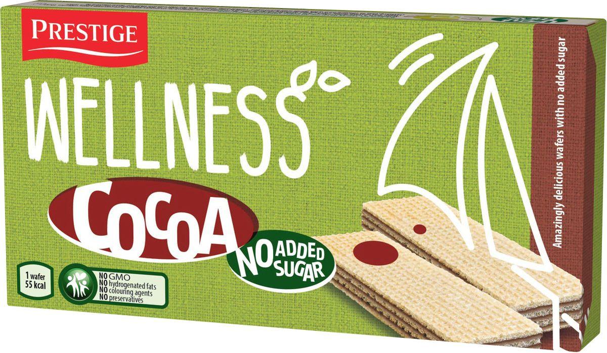 Wellness вафли с какао без сахара, 135 г вафли акульчев мягкие мяфли 125г