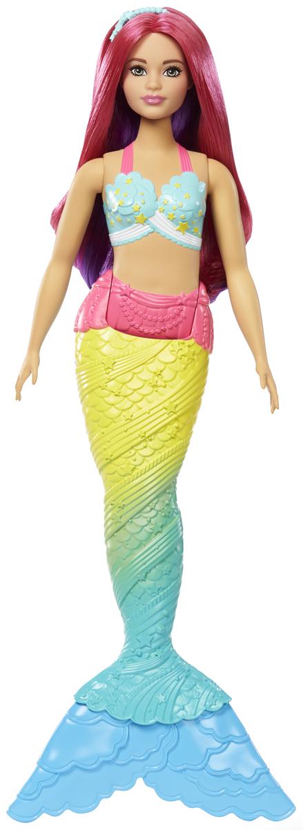 Barbie Кукла Волшебные русалочки цвет мятный, салатовый FJC89_FJC93 куклы и одежда для кукол barbie кукла балерина шатенка 30 см