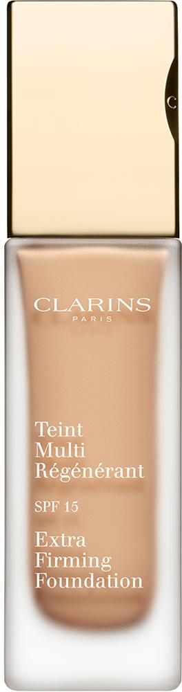 Clarins Регенерирующий тональный крем Teint Multi-Regenerant, SPF15 108, 30 мл04019810Тональный крем с насыщенной нежирной текстурой не только выравнивает тон кожи, но и оказывает заметное антивозрастное действие. Полисахариды овса обеспечивают моментальный эффект лифтинга и разглаживают кожу. Экстракт подорожника укрепляет и способствует повышению ее упругости. Комплекс Light-Optimizing дарит здоровое сияние молодости. Эксклюзивный комплекс Clarins Anti-Pollution защищает от вредного воздействия загрязнений.