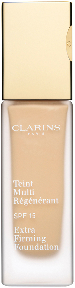 Clarins Регенерирующий тональный крем Teint Multi-Regenerant, SPF15 109, 30 мл04019910Тональный крем с насыщенной нежирной текстурой не только выравнивает тон кожи, но и оказывает заметное антивозрастное действие. Полисахариды овса обеспечивают моментальный эффект лифтинга и разглаживают кожу. Экстракт подорожника укрепляет и способствует повышению ее упругости. Комплекс Light-Optimizing дарит здоровое сияние молодости. Эксклюзивный комплекс Clarins Anti-Pollution защищает от вредного воздействия загрязнений.