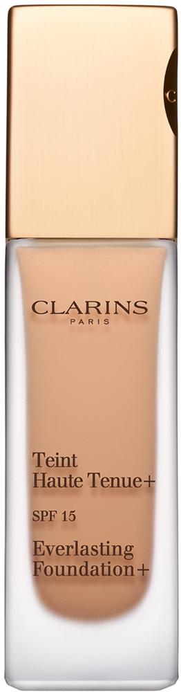 Clarins Устойчивый тональный крем Teint Haute Tenue+ SPF 15 109, 30 мл04071510Тональный крем с легкой обволакивающей текстурой эффективно маскирует все несовершенства кожи, питает, увлажняет и защищает ее, гарантируя идеально ровный тон и ощущение комфорта с утра до самого вечера. Формула нового поколения, сочетающая высокоэффективные растительные экстракты и самые современные технологии, обеспечивает 18 часов* стойкости покрытия и комфорта в любых обстоятельствах, а также комплексную защиту от загрязнений, свободных радикалов и УФ-лучей. * Исследование удовлетворенности потребителей при участии 60 женщин.