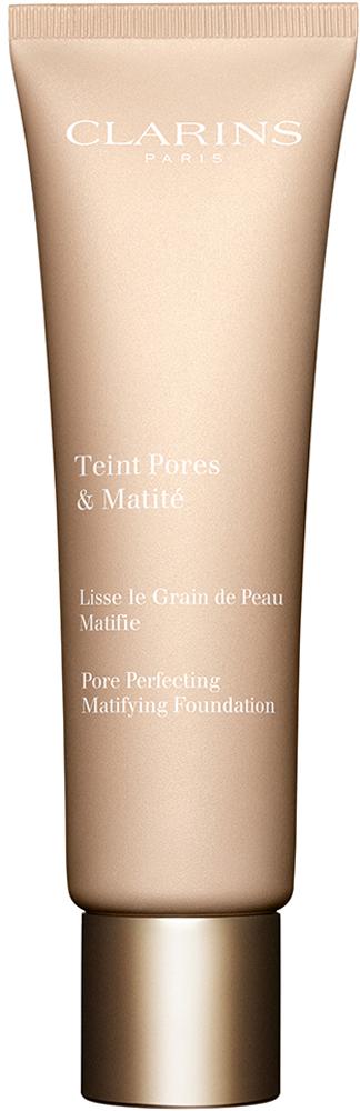 Clarins Тональный крем с матирующим и выравнивающим действием Teint Pores & Matite 01, 30 мл80020532Тональное средство с воздушной нежирной текстурой моментально выравнивает тон и текстуру кожи. Оно буквально стирает с лица все мелкие несовершенства, благодаря входящим в состав формулы микрожемчужинам, получаемым из камеди акации. А красная глина и экстракт солероса оказывают матирующее и увлажняющее действие, день за днем помогая сохранять свежесть, красоту и комфорт кожи.