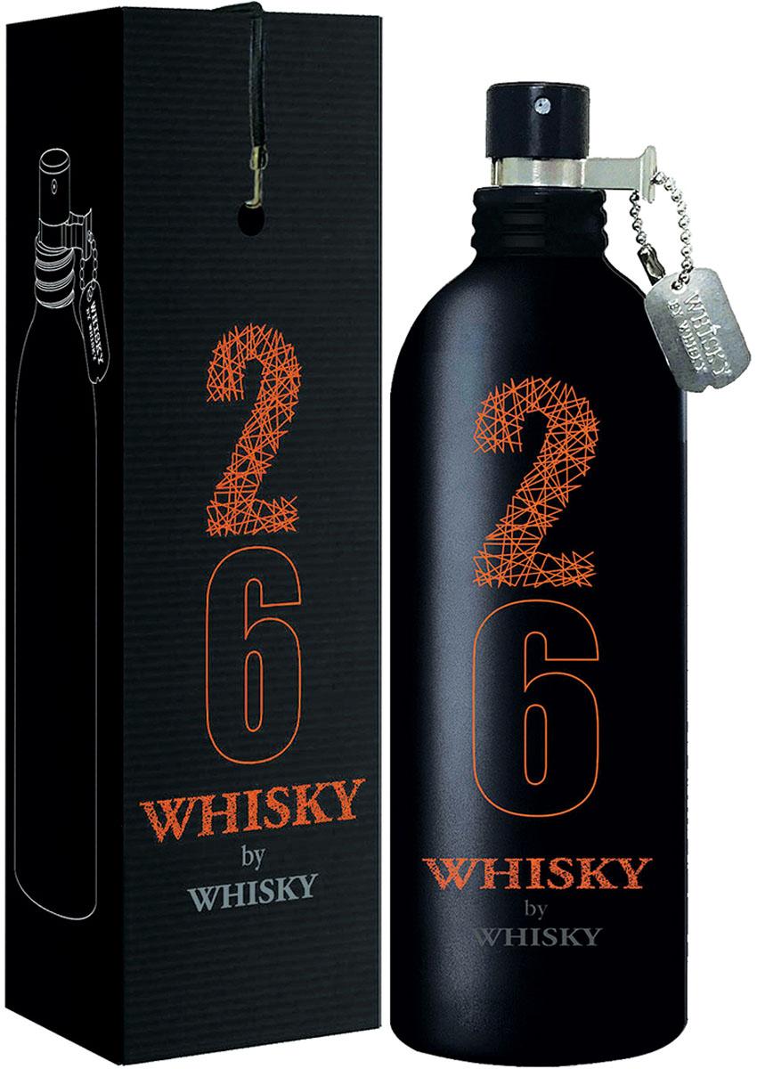 Evaflor Туалетная вода для мужчин Whisky 26 Whisky By Whisky, 100 мл evaflor туалетная вода для мужчин whisky 80 whisky by whisky 100 мл