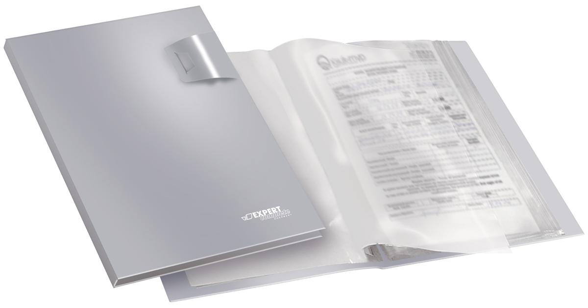 Expert Complete Папка с прозрачными вкладышами Metallic формат А4 -  Папки