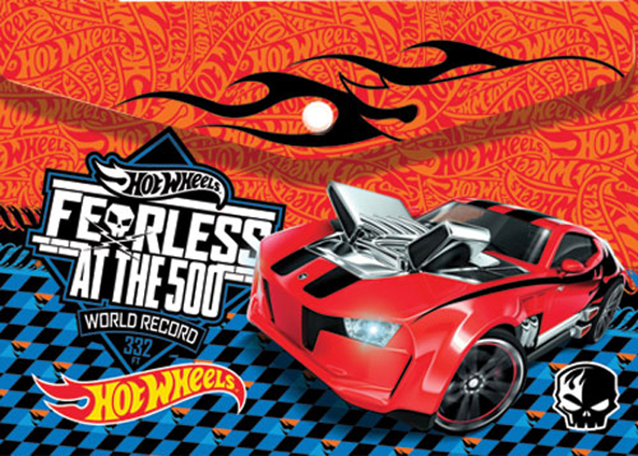 Mattel Папка-конверт на кнопке Hot Wheels формат А4 4252145