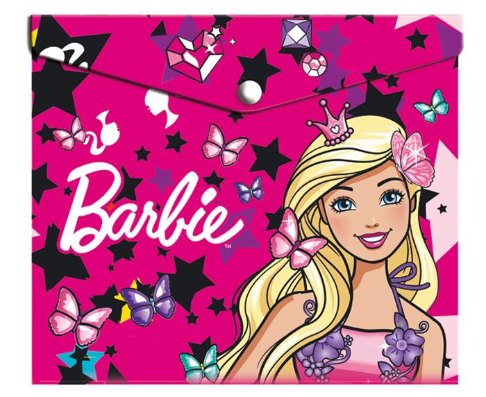 Mattel Папка-конверт на кнопке Barbie формат А5+ 42533100