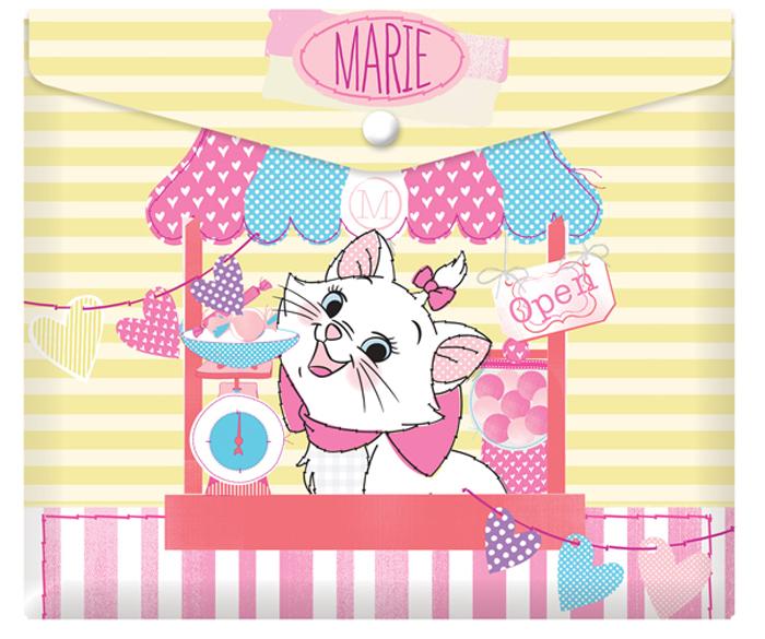 Disney Папка-конверт на кнопке Кошка Мари формат А5+ 42533109