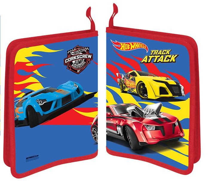 Mattel Папка-конверт на кнопке Hot Wheels формат А4+ 4255109 -  Папки