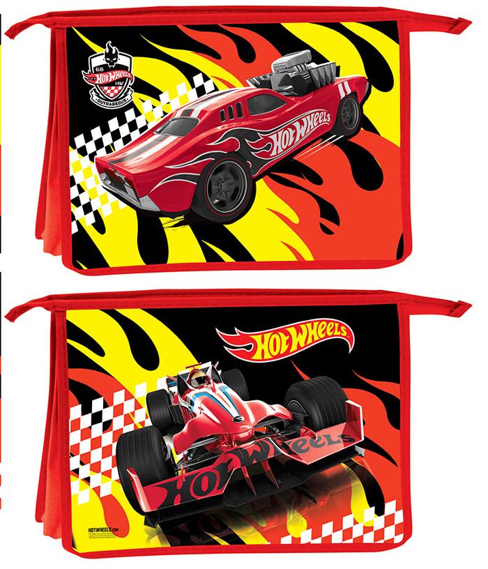 Mattel Папка-конверт на кнопке Hot Wheels формат А4+ 4255113 -  Папки