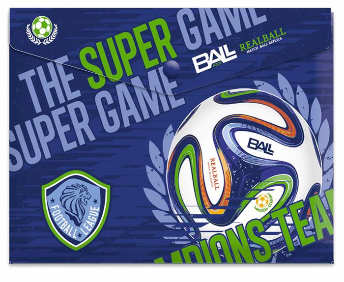 Limpopo Папка-конверт на кнопке Футбол формат А5+ 4256853