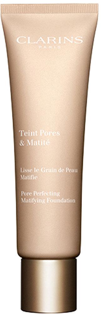 Clarins Тональный крем с матирующим и выравнивающим действием Teint Pores & Matite 02, 30 мл80020533Тональное средство с воздушной нежирной текстурой моментально выравнивает тон и текстуру кожи. Оно буквально стирает с лица все мелкие несовершенства, благодаря входящим в состав формулы микрожемчужинам, получаемым из камеди акации. А красная глина и экстракт солероса оказывают матирующее и увлажняющее действие, день за днем помогая сохранять свежесть, красоту и комфорт кожи.