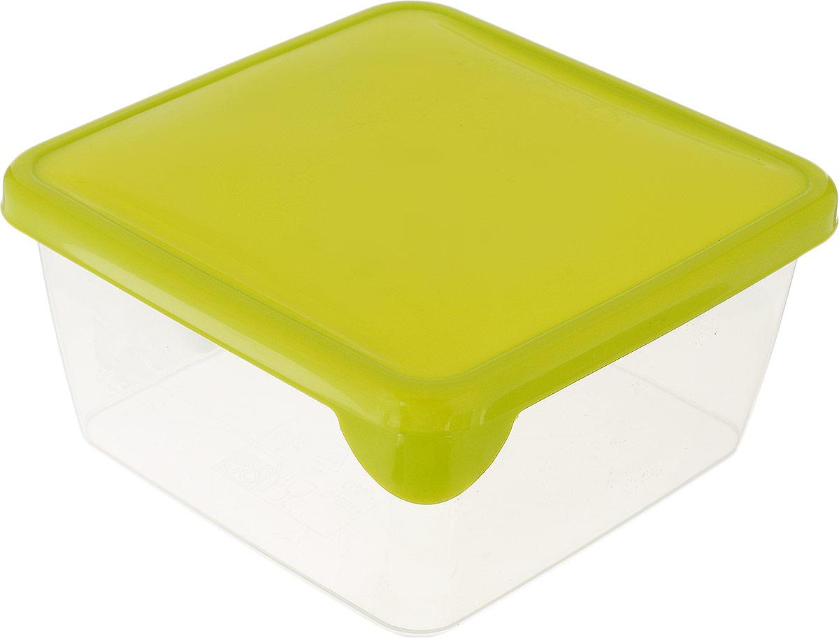 Контейнер P&C Браво, цвет: оливковый, прозрачный, 450 млGR1030_оливковый, прозрачныйКонтейнер P&C Браво выполнен из высококачественного пищевого прозрачногопластика и предназначен для хранения и транспортировки пищи.Крышкалегко открывается и плотно закрывается с помощью легкого щелчка.Подходит для использования в микроволновой печи без крышки (до +70°С), длязаморозки при минимальной температуре -30°С. Можно мыть в посудомоечноймашине.