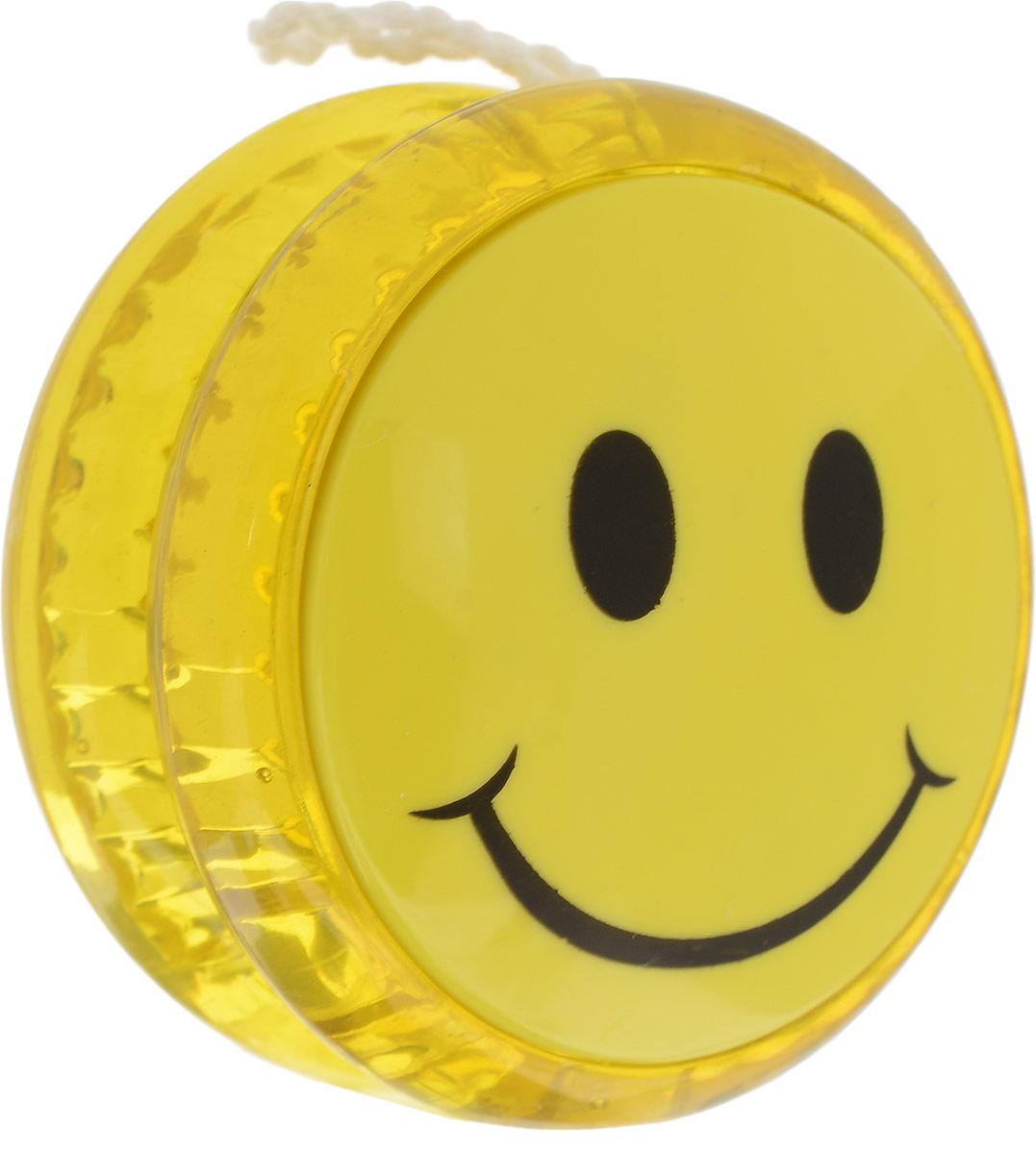 Волчок Yo-Yo. Смайл Уцененный товар (№1), Эврика, Развлекательные игрушки  - купить со скидкой